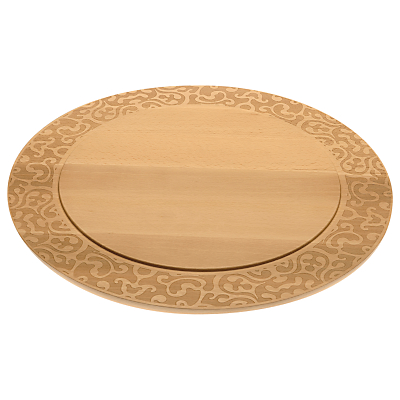 Alessi Dressed Cheese Board, Beechwood, Dia.41.8cm