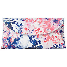 Buy L.K. Bennett Flo Patterned Fold-Over Clutch Bag Online at johnlewis.com