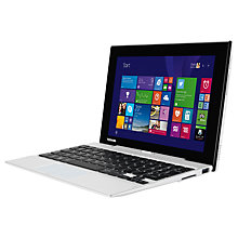 "Buy Toshiba Satellite Click Mini L9W-B Convertible Tablet & Laptop, Intel Atom, 2GB RAM, 32GB SSD, Windows 8.1 & Office 365, 8.9"" Touch Screen Online at johnlewis.com"