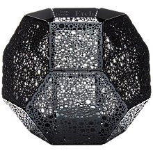 Buy Tom Dixon Etch Dot Tealight Holder, Black Online at johnlewis.com