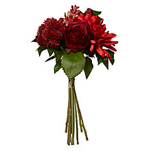Buy Floralsilk Gerbera/Rose Bouquet, Red Online at johnlewis.com