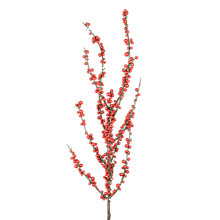 Buy Floralsilk Ilex Berry Stem, Red Online at johnlewis.com
