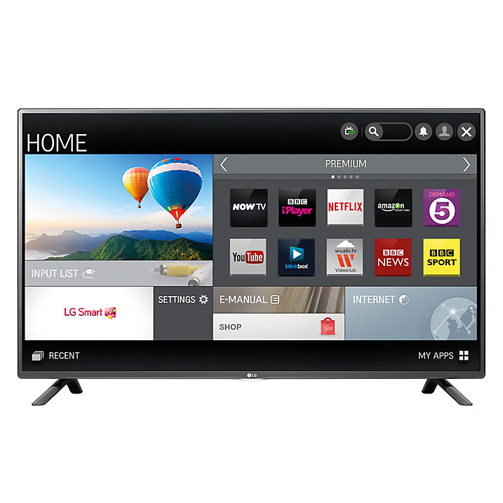 "LG 55LF580V LED HD 1080p Smart TV, 55"" with Freeview HD and Built In"