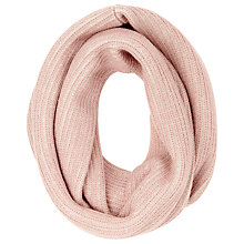 Buy John Lewis Two Tone Snood, Blush/Cream Online at johnlewis.com