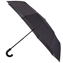 Buy Ted Baker Uproar Printed Compact Umbrella, Navy Online at johnlewis.com