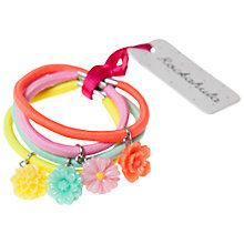 Buy Rockahula Mis-Match Hair Band With Flower Ponies, Pack of 4, Multi Online at johnlewis.com