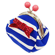 Buy Rockahula Jersey Stripe Clasp Purse Online at johnlewis.com