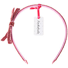 Buy Rockahula Glitter Bow Alice Band Online at johnlewis.com