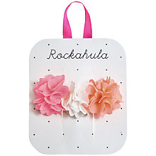 Buy Rockahula Mini Ruffle Flower Ponies, Pack of 3 Online at johnlewis.com