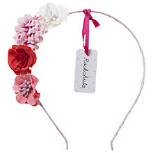 Buy Rockahula Tallulah Flower Alice Band, Pink Online at johnlewis.com