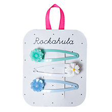 Buy Rockahula Frida Flower Hair Clips, Pack of 3 Online at johnlewis.com