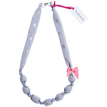 Buy Rockahula Shimmer Spot Necklace, Grey Online at johnlewis.com