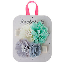 Buy Rockahula Tallulah Flower Clips, Pack of 2, Multi Online at johnlewis.com