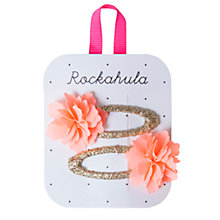 Buy Rockahula Ruffle Flower Clips, Pack of 2 Online at johnlewis.com