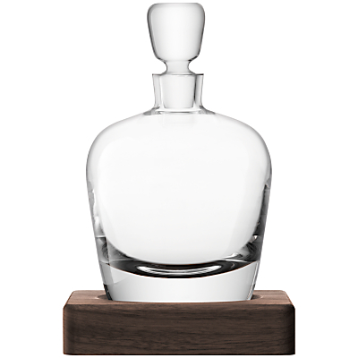 LSA International Conical Whisky Decanter with Base