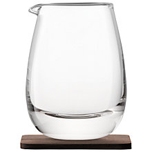 Buy LSA International Water Jug with Walnut Coaster Online at johnlewis.com
