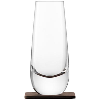 LSA International Whisky Mixer Glass with Coaster, Set of 2