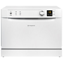 Buy Hotpoint HCD662 Freestanding Compact Dishwasher, White Online at johnlewis.com