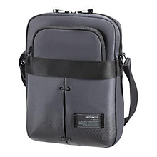 Buy Samsonite Cityvibe 17.8-24.5cm Tablet Cross Body Bag, Grey Online at johnlewis.com