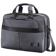 "Buy Samsonite CityVibe Bailhandle 16"" Laptop Expandable Work Bag, Grey Online at johnlewis.com"