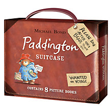 Buy Paddington Suitcase, Set of 8 Books Online at johnlewis.com