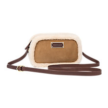 Buy UGG Seldon Suede Across Body Bag Online at johnlewis.com
