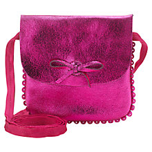 Buy Jigsaw Junior Girls' Alice Leather Mini Cross Body Bag Online at johnlewis.com