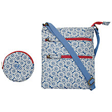 Buy Fat Face Girls' Daisy Print Bag & Purse Set, Blue Online at johnlewis.com