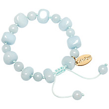 Buy Lola Rose Sury Adjustable Stone Bracelet, Ice Blue Quartzite Online at johnlewis.com