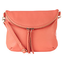 Buy Oasis Leather Clover Crossbody Bag Online at johnlewis.com