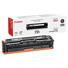 Buy Canon CRG-731B Toner Cartridge, Black Online at johnlewis.com