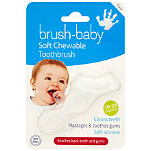 Buy Brush Baby Toothbrush, Clear Online at johnlewis.com