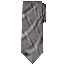 Buy Chester by Chester Barrie Prince of Wales Check Tie, Grey Online at johnlewis.com