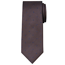 Buy Chester by Chester Barrie Textured Dot Silk Tie Online at johnlewis.com