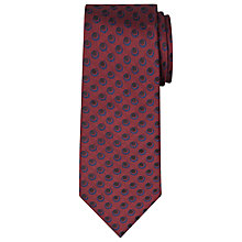 Buy Chester by Chester Barrie Twill Circle Dot Silk Tie Online at johnlewis.com
