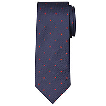 Buy Chester by Chester Barrie Textured Base Dot Silk Tie Online at johnlewis.com