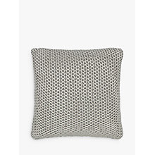 Buy John Lewis Honeybee Cushion, Smoke Online at johnlewis.com