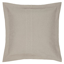 Buy John Lewis Alice Square Oxford Sham Pillow / Cushion Cover, Latte Online at johnlewis.com