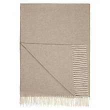 Buy John Lewis Croft Collection 100% Cashmere Throw Online at johnlewis.com