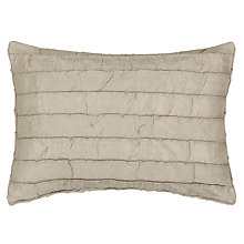 Buy John Lewis Shimmer Cushion, Natural Online at johnlewis.com