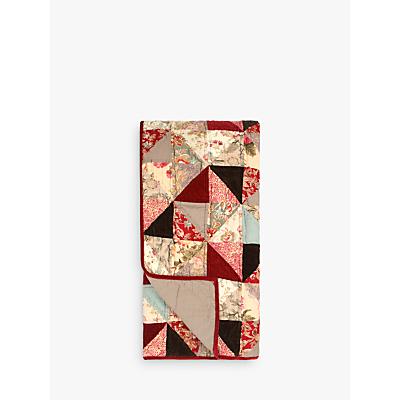 John Lewis Patchwork Bedspread, Ruby
