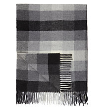 Buy John Lewis Whitby Check Lambswool Throw Online at johnlewis.com