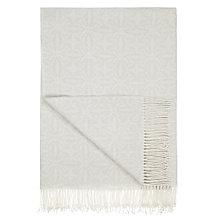 Buy John Lewis Croft Nevis Throw Blanket, Grey Online at johnlewis.com