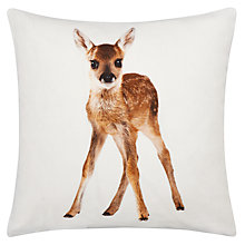 Buy John Lewis Baby Deer Cushion Online at johnlewis.com