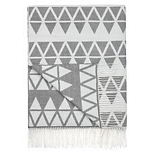 Buy John Lewis Triangles Throw Online at johnlewis.com