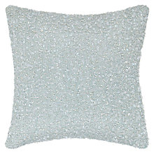 Buy John Lewis Luxe Cushion, Duck Egg Blue Online at johnlewis.com