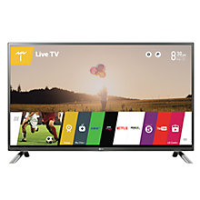 "Buy LG 32LF650V LED HD 1080p 3D Smart TV, 32"" with Freeview HD, Built-In Wi-Fi & 2x 3D Glasses with Monster HDMI Cable Online at johnlewis.com"