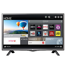 "Buy LG 28LF491U LED HD Ready Smart TV, 28"" with Freeview and Built-In Wi-Fi Online at johnlewis.com"