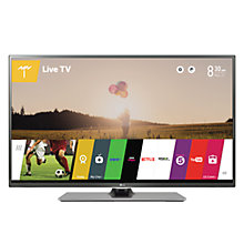 "Buy LG 42LF652V LED HD 1080p 3D Smart TV, 42"" with Freeview HD, Built-In Wi-Fi & 2x 3D Glasses with Monster HDMI Cable Online at johnlewis.com"