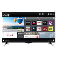 "Buy LG 55UF695V 4K Ultra-HD Smart TV, 55"" with Freeview HD and Built-In Wi-Fi Online at johnlewis.com"